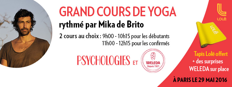 Grand cours de yoga par Psychologies