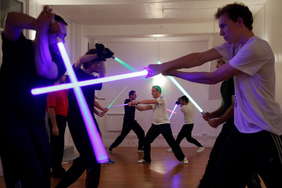 Tournoi national de combat au sabre laser