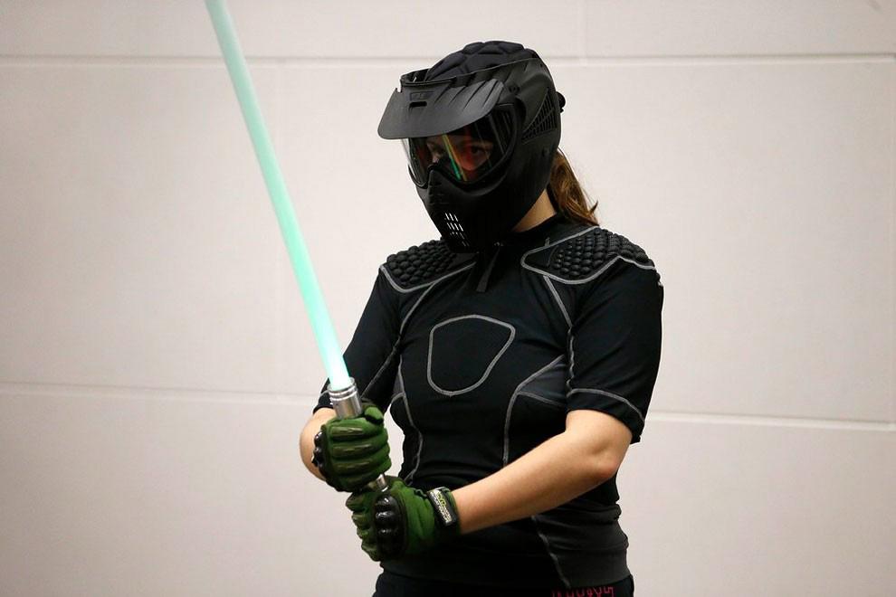 Combat au sabre laser