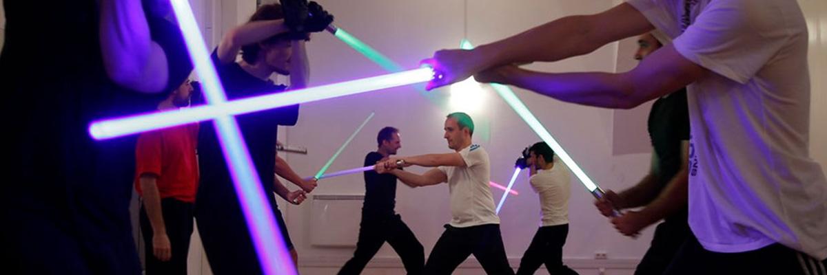 Cours de Sabre laser