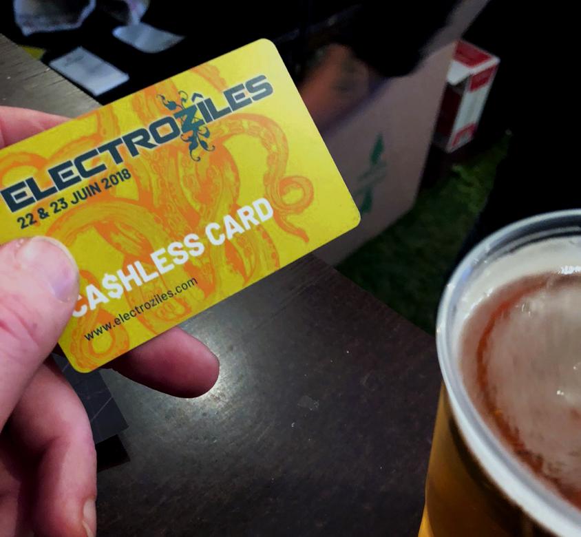 Cashless electroziles weezevent